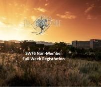 Non-Member Registration-Full week –  SWFS 2019
