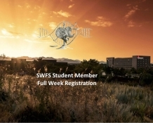 Student Member Registration- Full week – SWFS 2019